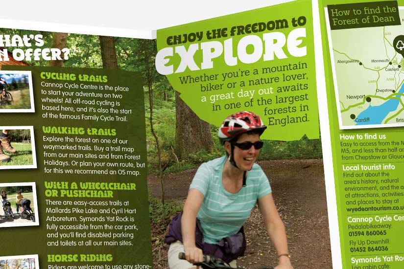 Explorer Leaflet, Forestry Commission England