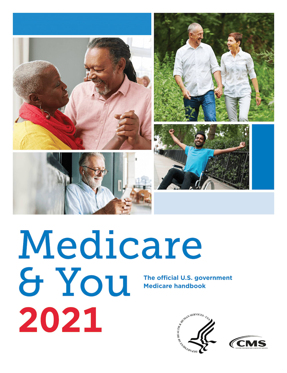 Medicare and You 2021 handbook cover