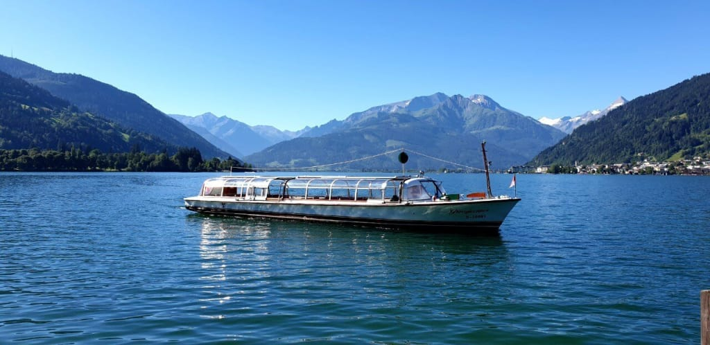 Boat trip on Lake Zell.