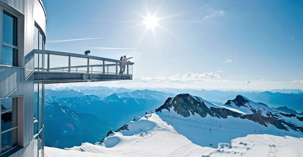 Kitzsteinhorn viewing platform.
