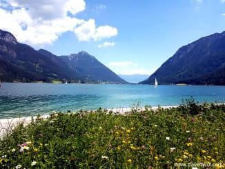 Lake Achensee in Austria.