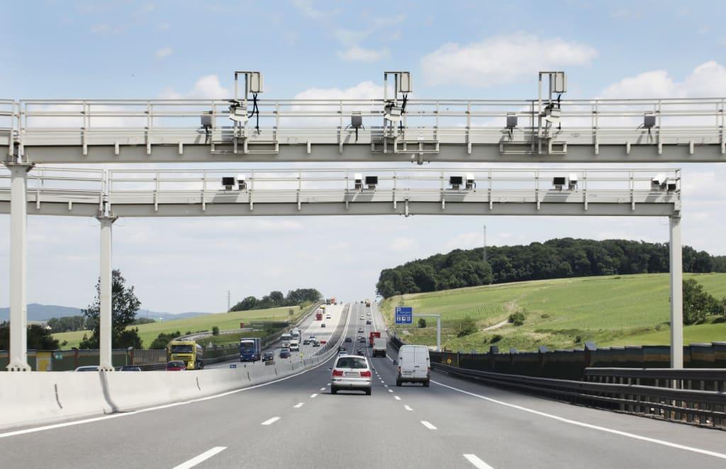 Austrian motorway cameras. © Asfinag