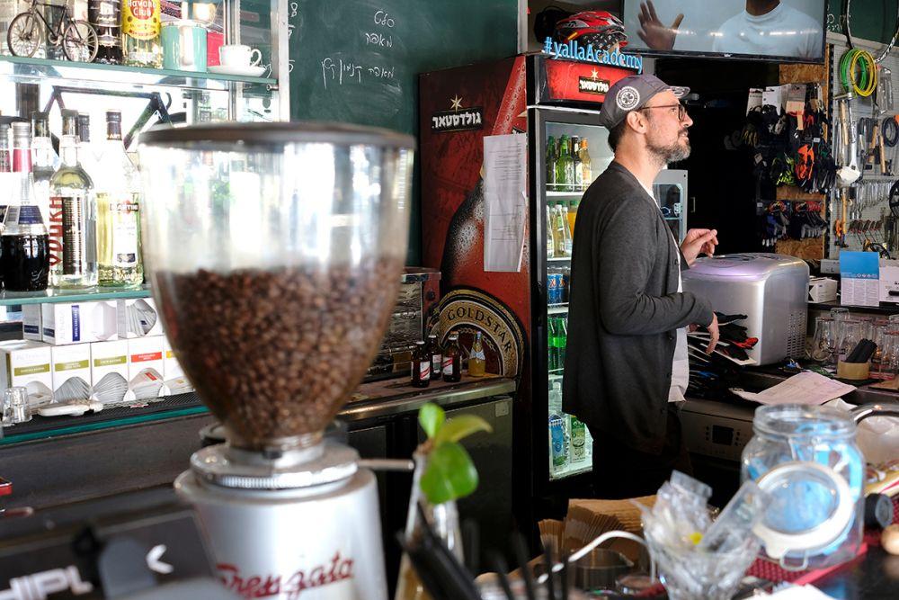 arnon bike cafe tel aviv
