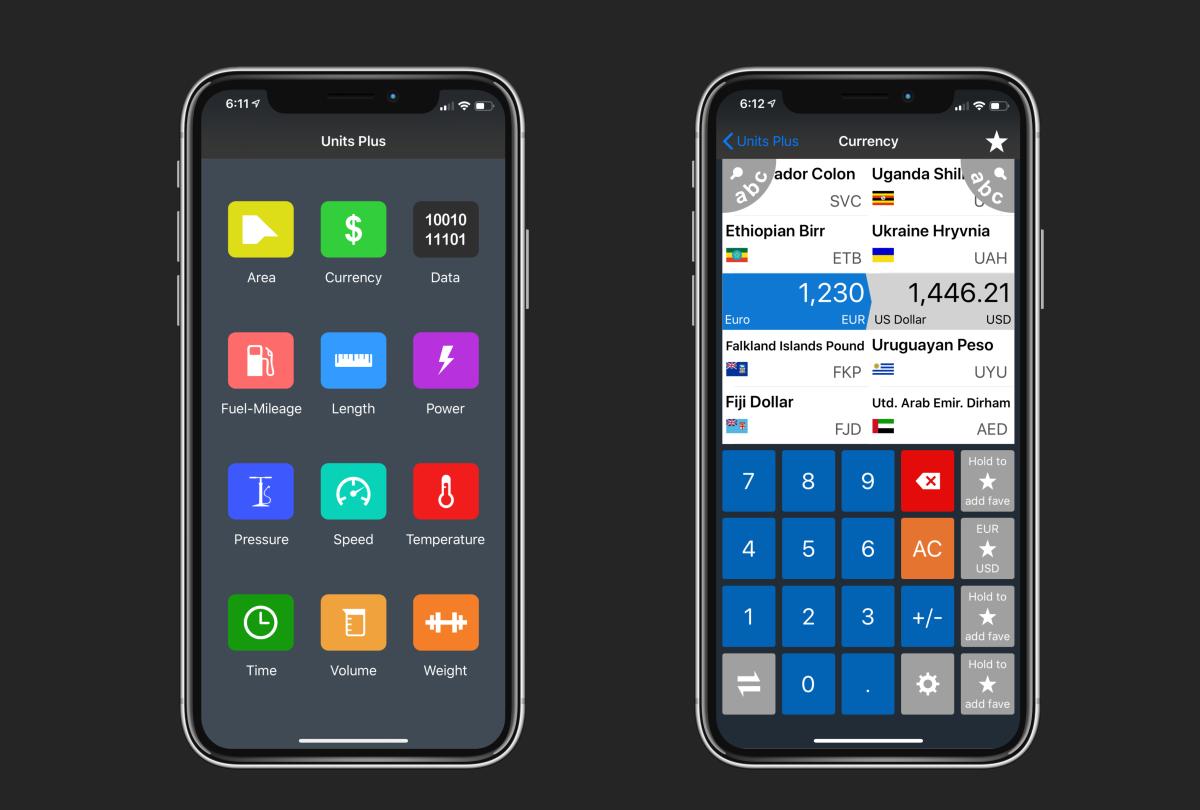 unitsplus app