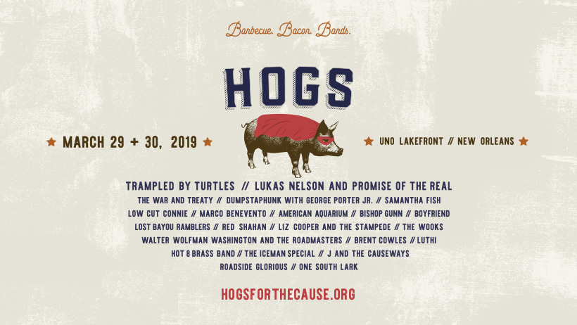 hogs for cause