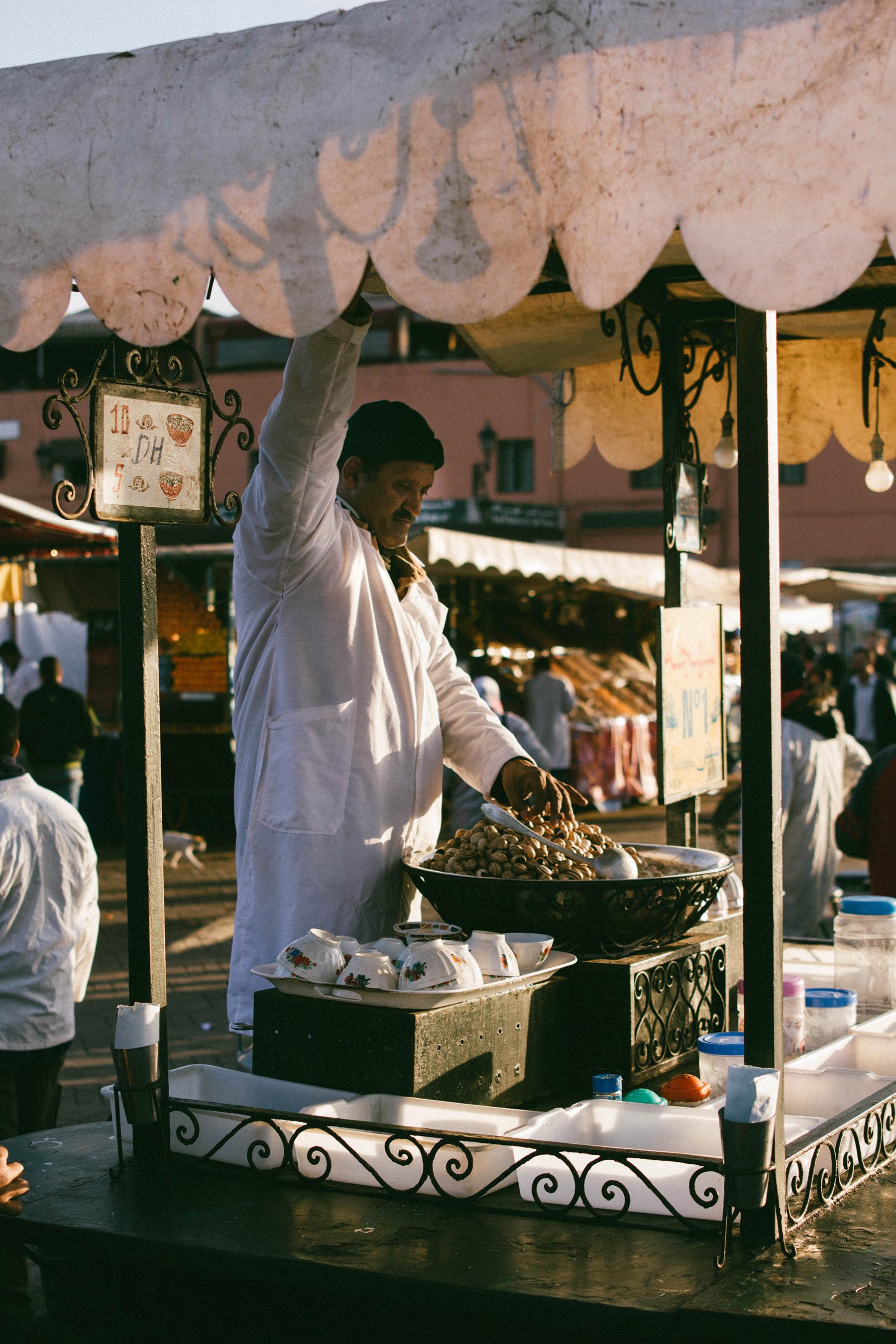 marrakech street food