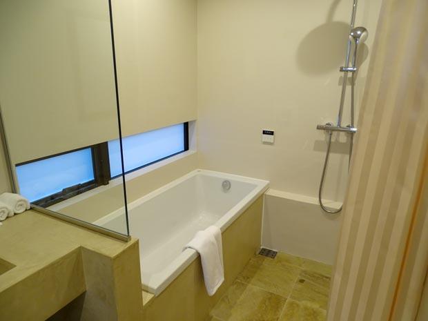 canvas hayama 浴室