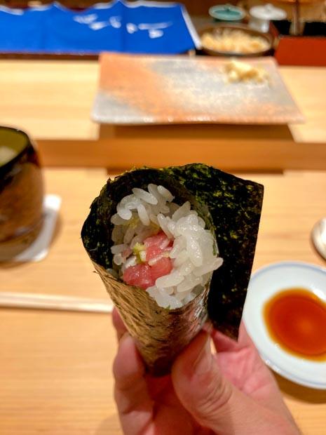 パークハイアット ニセコ 夕食 鮨