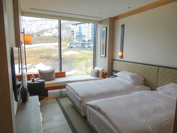 パークハイアット ニセコ 寝室