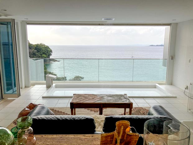 THE HOUSE Koajiro marina suite 客室からの眺め