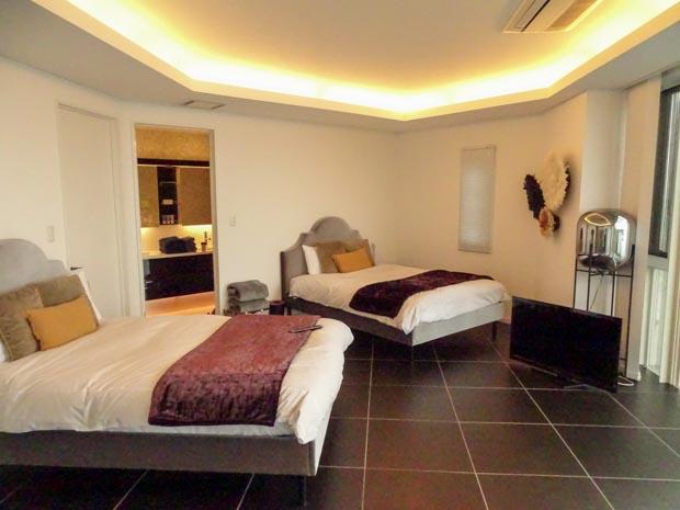 THE HOUSE Koajiro marina suite 寝室