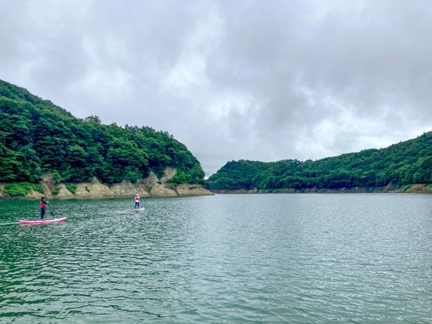 夏油高原SUP(入畑ダム)