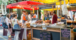 5 Best Street Food Markets in London