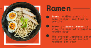 Everything You Need To Know To Master Japanese Food – Infographic