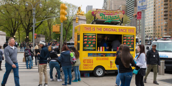 food carts in Manhattan