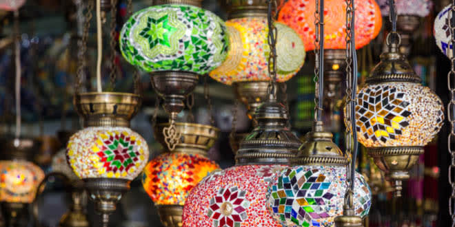 Souk in Marrakesh