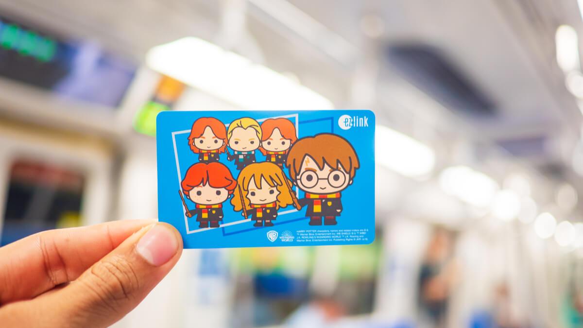 thẻ ez link  thẻ đi tàu điện xe bus tại singapore