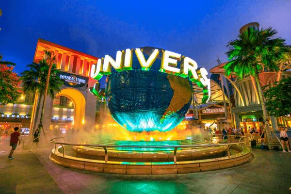 công viên universal singapore
