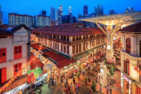 Khu phố Chinatown Singapore