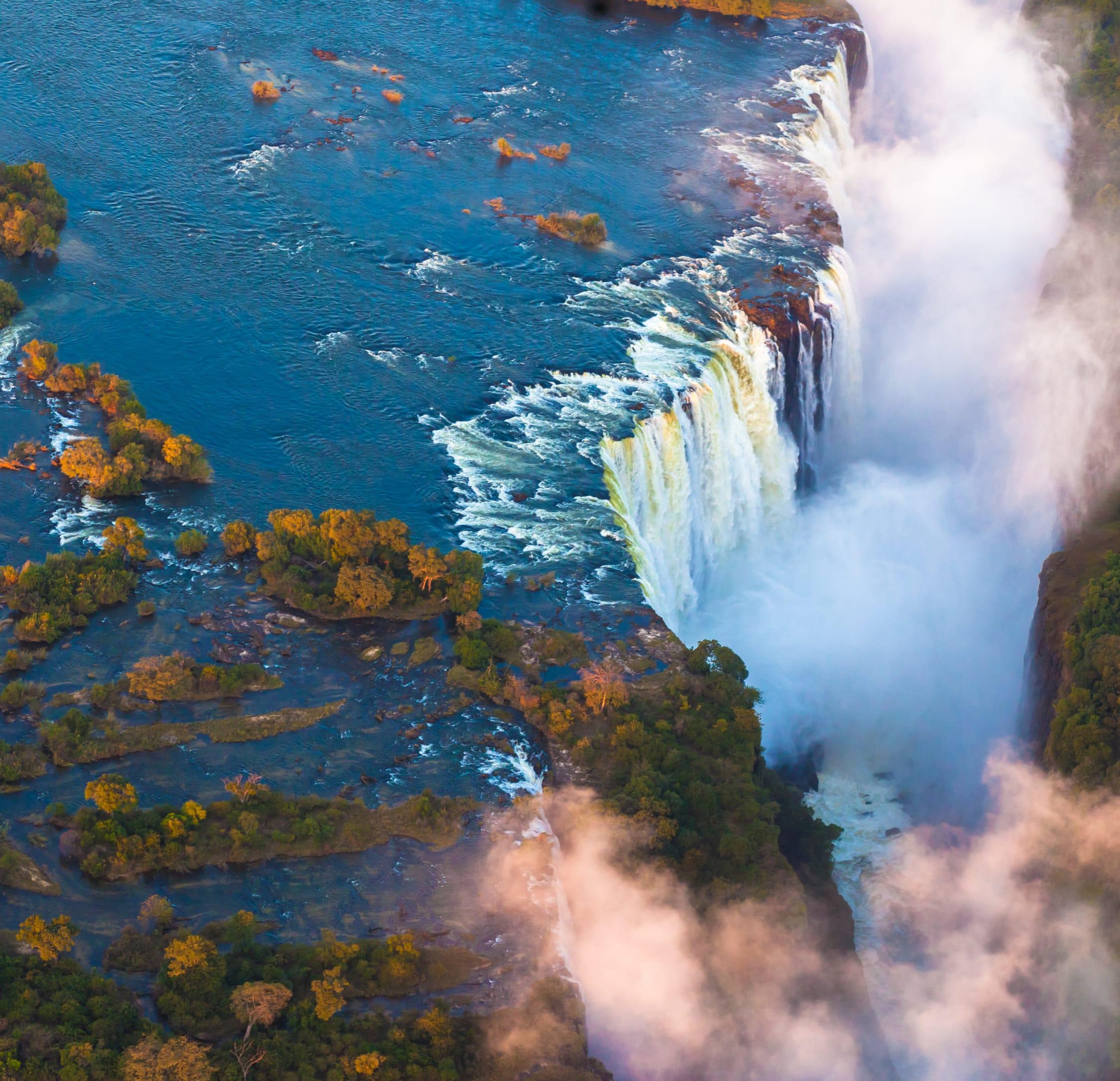 Simbabwe.Victoria Falls