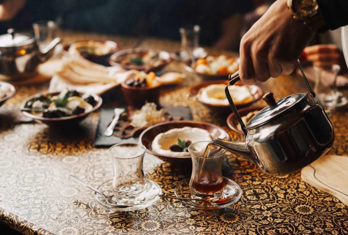Jordanische Küche