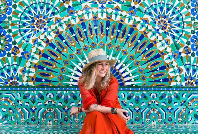 Die Farbenpracht Marokkos