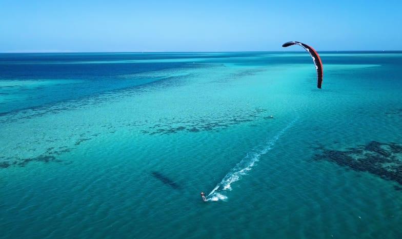 Wassersport mit Booten in Mauritius