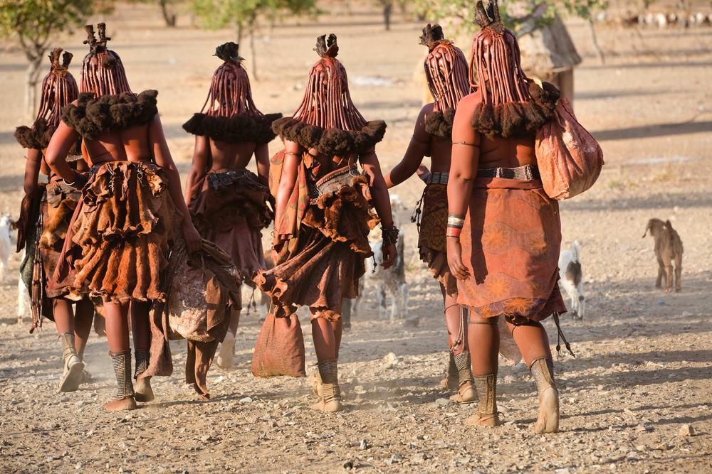 Volk in Namibia