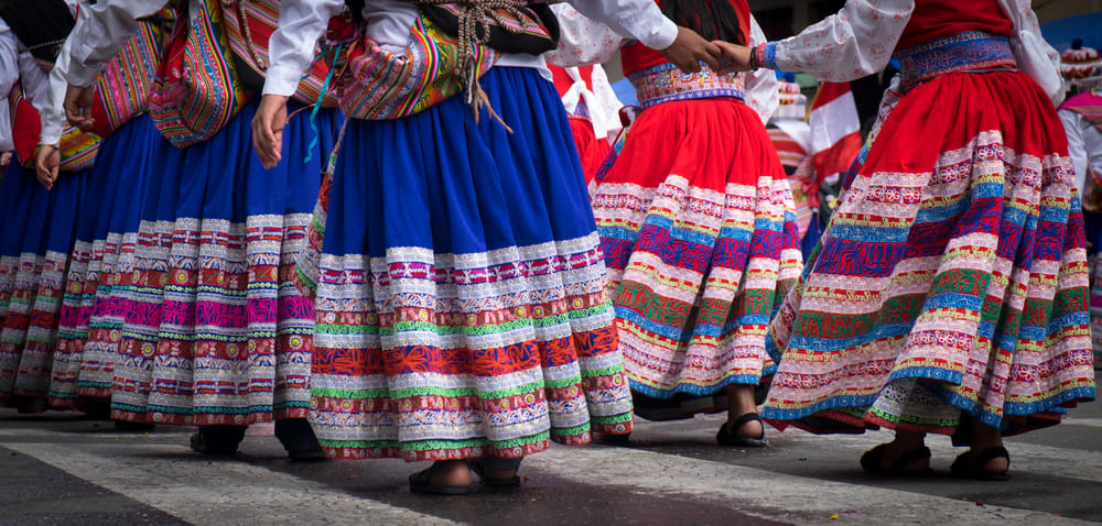Bolivien Tanz