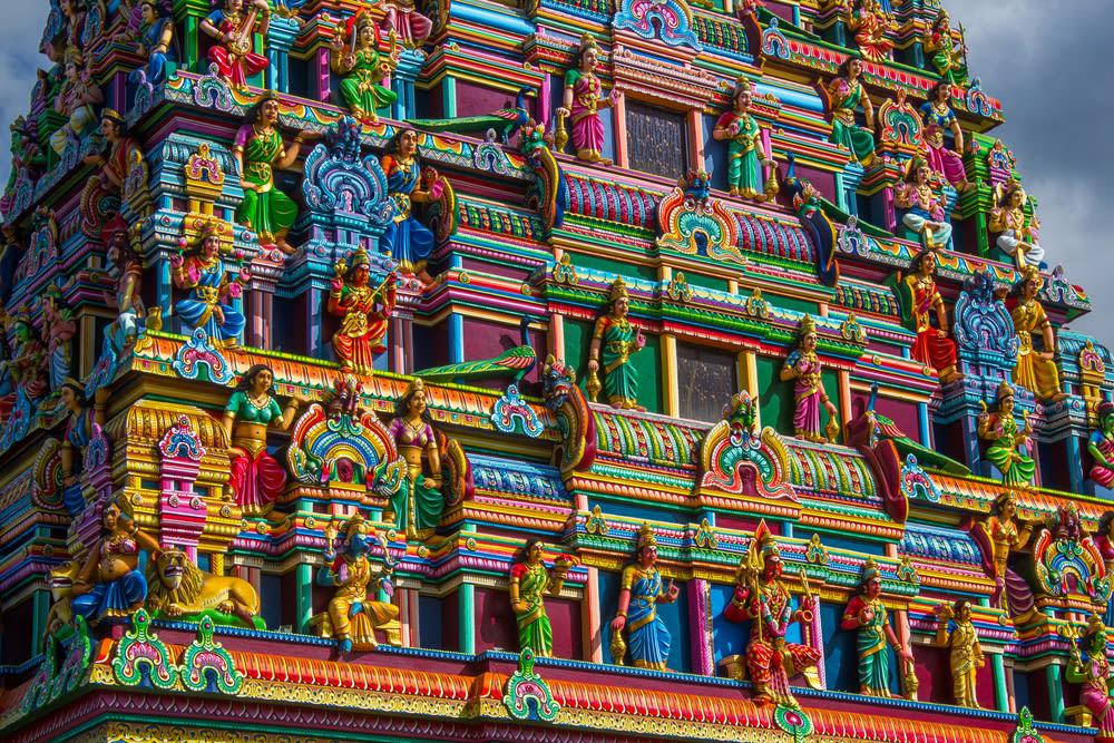 La Réunion Hinduismus