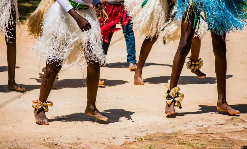 Tänzer in Simbabwe