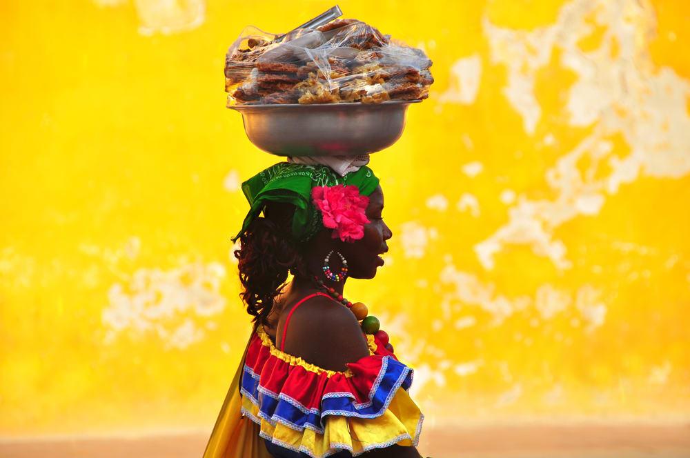 Kolumbien Frau