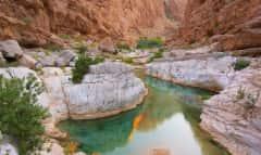 Wadi Shab und Canyons im Oman