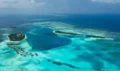 Versteckt zwischen zwei privaten Inseln liegt das faszinierende Unterwasserrestaurant