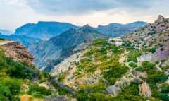 Jebel Akhdar Gebirgswanderung Oman