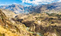 Colca Canyon und Berge