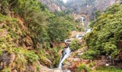 Rawana Wasserfall Sri Lanka
