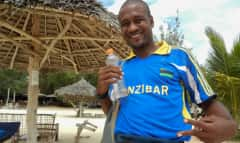 Mensch auf Sansibar
