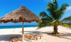 Strand in Sansibar