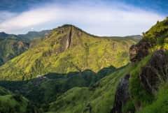 Berglandschaften bei Ella Sri Lanka