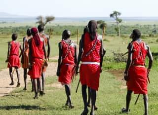 TZA.MaasaiSteppe.Maasai Gruppe