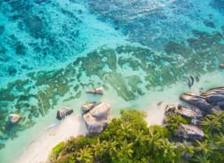 SYC.La Digue from above