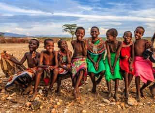 KEN.Einheimischer Stamm