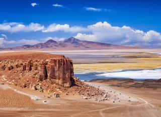 CHL.Atacamawüste.Felsen und Berge