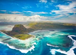 MUS.Insel aus der Luft