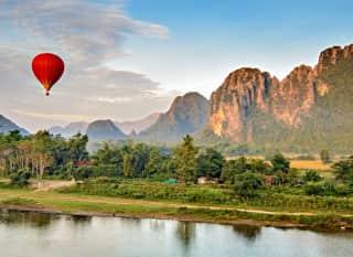 LA.Nam Song Heißluftballon