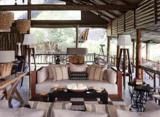 Belmond Savute Elephant Lodge Lounge