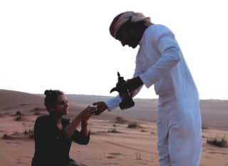 Sandra im Oman