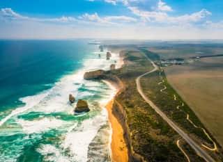 AU.Great Ocean Road Above