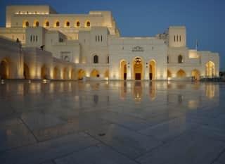OM.Royal Opera House Muscat.Nacht